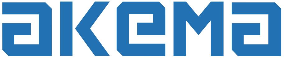 Logo Akema bleu