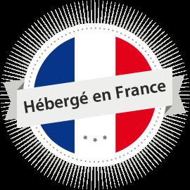 Logo hébergé en France