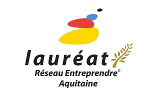 Logo Lauréat Réseau Entreprendre Aquitaine